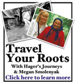 Travel Your Roots with Hager's Journeys & Megan Smolenyak
