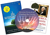 Reverse Genealogy: Finding the Living - webinar-on-CD Bundle