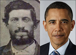 Barack Obama and 3rd Great Grandfather
